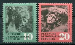DDR - 1958 - Mi. 667/668 ** - Nuevos