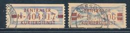 DDR Dienstmarken B 20/21 Gestempelt Originale Mi. 13,- - Service