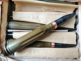Russe School , Dekoration , Ball, Shilka 23 X 152 Militaire, Super - Decorative Weapons
