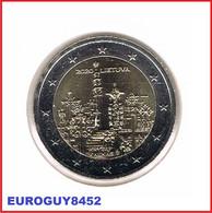 LITOUWEN - 2 € COM. 2020 UNC - HEUVEL DER KRUISEN - Lithuania