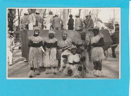 CARTE PHOTO SPECTACLE CARNAVAL DE 1935 - Fotografie