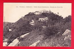 E-Vietnam-46P49  TONKIN  DOSON, Villa Saint Mathurin, Route De Hon-Do, Cpa BE - Vietnam