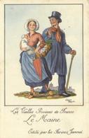 Les Vieilles Provinces De France Jean Droit Le Maine   Edité Par Les Farines Jammet Recto Verso - Trachten