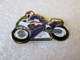 PIN'S   MOTO  HONDA  ROTHMANS   DUNLOP MOTUL - Motorfietsen