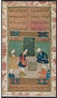 IMAGE ANNÉE 40 - PEINTURE D'IRAN DU 11ème SIECLE /10 - Voir Description - PERSE JEU D'ECHECS CHESS - Altri