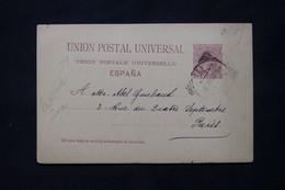 ESPAGNE - Entier Postal De Madrid Pour Paris En 1892 - L 78339 - 1850-1931