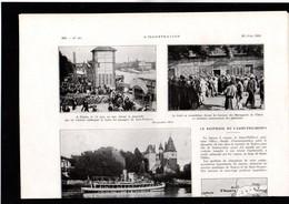 MARINE -- Article Coupure De Presse -- 2 Pages -- Année 1931 --  Naufrage Du Saint Philbert - Non Classés
