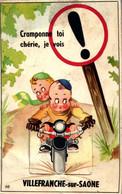 [69] Rhône > Villefranche-sur-Saone CARTE  A SYSTEME  COMPLET /MOTO /    LIQUIDE  BOUTIQUE  A VOIR - Villefranche-sur-Saone