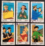 TIMBRES   DE    FRANCE   N° 4051  A   4056         OBLITÉRÉS  ( LOT:5827) - Used Stamps