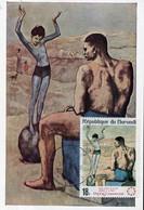 60449 Burundi Maximum 1967, Painting Picasso,  Acrobate A La Boule - Picasso