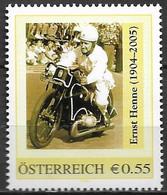 2005 Austria Österreich  Peronalisierte Marke **MNH Ernst Henne - Private Stamps