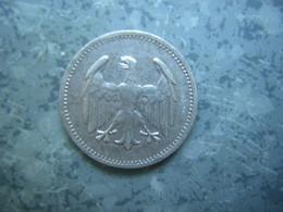 ALLEMAGNE - 1 MARK 1924 A - ARGENT - 1 Mark & 1 Reichsmark