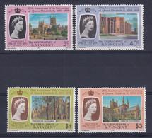 St Vincent: 1978   25th Anniv Of Coronation   MNH - St.Vincent (...-1979)