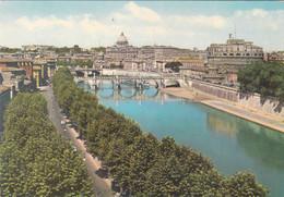Roma - Ponte E Castel S.angelo - Viaggiata - Castel Sant'Angelo