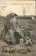 AFRIQUE - CAP-VERT - Pêcheurs - Cochon - Cape Verde