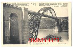 CPA - LA ROCHE-BERNARD 56 Morbihan - Le Pont Suspendu + Texte - N° 66 - Edit. G. Artaud - Recto-Verso - La Roche-Bernard