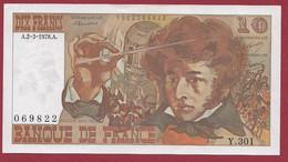"""10 Francs """"Berlioz"""" Du 02/03/1978.A---ALPH.Y.301---UNC/NEUF---BILLET MAGNIFIQUE - 10 F 1972-1978 ''Berlioz''"""