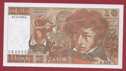 "10 Francs ""Berlioz"" Du 05/08/1976.B---ALPH.J.293---N °182055 ---UNC/NEUF---BILLET MAGNIFIQUE - 10 F 1972-1978 ''Berlioz''"