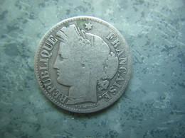 FRANCE - 2 FRS CERES 1871 K SANS LEGENDE - ARGENT - I. 2 Francs