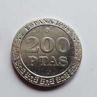 Moneda De ESPAÑA De 200 Pesetas Emitida En 1998 - SIN CIRCULAR - 100 Pesetas