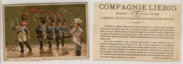 Liebig S72 * Military Exercises In The Rain * (Exercice Militaire Sous La Pluie) (1878-1883) - Liebig