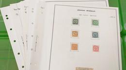 Lot N° TH 652 COLONIES GENERAL Timbres Anciens  Neufs Ou Obl. Sur Page D'albums - Collezioni (in Album)