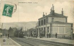 CHAUMONT EN VEXIN La Gare - Chaumont En Vexin