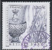 FRANCE 2019 METIERS D ART TAILLEUR DE CRISTAL OBLITERE A DATE YT 5306 - 2010-.. Matasellados