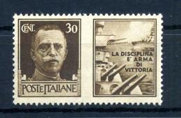 1942 REGNO Propaganda Di Guerra N.5 * 30 Centesimi Bruno MARINA - Propaganda De Guerra