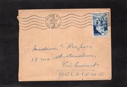 LSC 1948 - Cachet PARIS XIV Sur  YT 805 Seul Sur Lettre - 1921-1960: Moderne