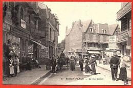 55 . BERCK-PLAGE .  - La Rue Carnot. - Berck