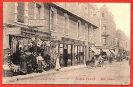 ". BERCK-PLAGE .  - Rue Carnot. ""Grand Bazar Parisien.) - Berck"