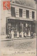 Fere En Tardenois_ Etablissements Ch MAUROY _G DELIGNY _Commerce 1904_Magasin  Pétrole_Essence_Alcool - Other Municipalities