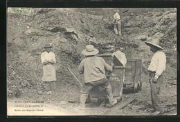 CPA Montceau-les-Mines, Carrière St-Francois, Carrière - Montceau Les Mines