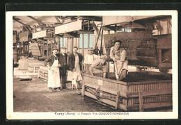 CPA Verzy, Pressoir Vye Cliquot Ponsardin - Verzy