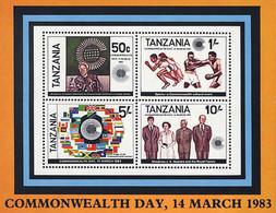 Ref. 41317 * NEW *  - TANZANIA . 1983. COMMONWEALTH'S DAY. DIA DE LA COMMONWEALTH - Tanzania (1964-...)
