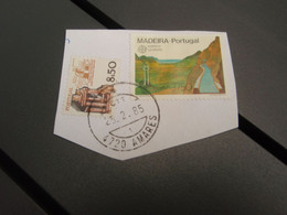 Timbre  MADEIRA - Portugal & Torno Automatico Branca 1985 AMARES - Unclassified