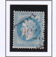 GC 3750 SAINT MARTIN DE BOSSENAY ( Dept 9 ) S / N° 29 Indice Baudot S / L : 19 Soit 420€ - 1849-1876: Klassieke Periode