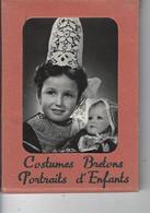 29 - FINISTERE - Petit Carnet De 10 Photos De Portraits D'enfants ( Costumes Bretons )- FOUESNANT ,PLOUGASTEL, QUIMPER - Audierne