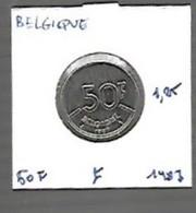 Baudoin 50 Fr Nickel 1987 Fr - Unclassified
