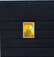 "Slovénie 2002 -  ""Chat Stylisé"" - Neuf ** - MNH - Gatos Domésticos"