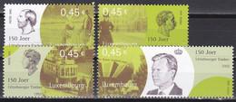 Md_ Luxemburg 2002 - Mi.Nr. 1581 - 1584 - Postfrisch MNH - Unused Stamps
