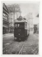 ° 75 ° PARIS ° N°93 - DEPÔT RUE DU CHÄTEAU ° TRAMWAY ° Photo Régie Autonome Des Transports Parisiens - Trains