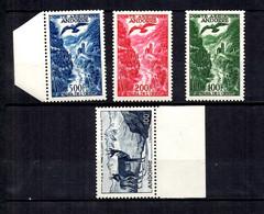Andorre Poste Aérienne YT N° 1/4 Neufs ** MNH. TB. A Saisir! - Correo Aéreo