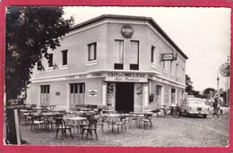"""CPSM 62 BERCK Sur Mer Bd De Paris Camping """" LA MOLLIERE"""" Café Restaurant  * Format CPA - Berck"""