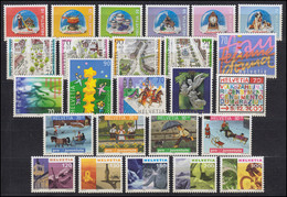 1709-1745 Schweiz-Jahrgang 2000 Komplett, Postfrisch - Unclassified