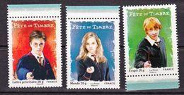France 4024a/ 4026 2007  Harry Potter Du Carnet  Neuf ** TB MNH Faciale 3.53 - Nuovi