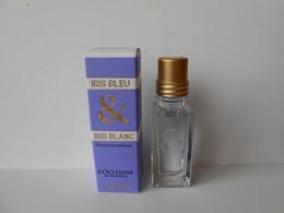 (D33) L'OCCITANE Iris Blanc & Iris Bleu - Miniature De Parfum - Mignon Di Profumo Donna (con Box)