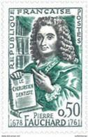 France  Dentelé N° 1307 50c Pierre Fauchard Qualité:** - 1961 - Non Classés