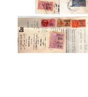 T- FISCAL  De Dimension   ( Sur Document)- - Revenue Stamps